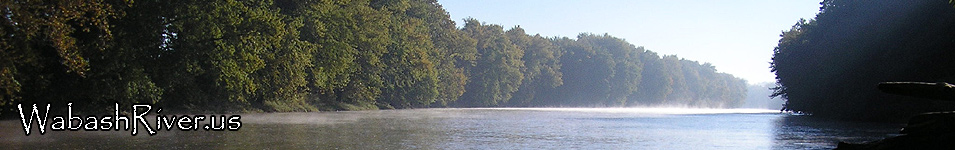 Wabash River in Indiana